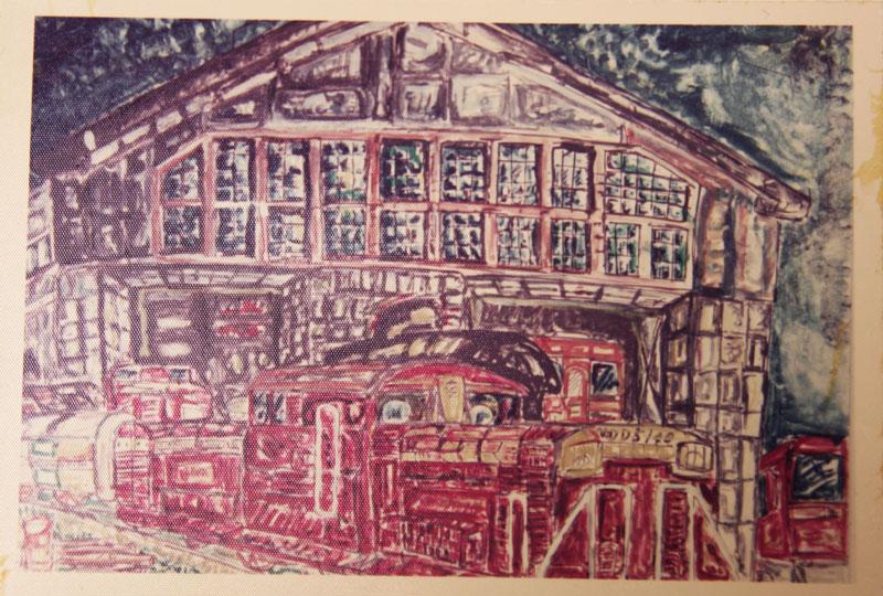 小学校3年生で描いた絵