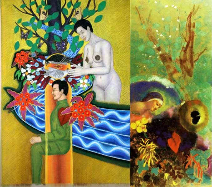 "<span class=""title"">私はパステル画家オディロン・ルドンとレオナルド・ダヴィンチの生まれ変わりか? 生まれ変わりならなぜこの時代に北海道に生まれ変わったのか?【My Policy 5】</span>"