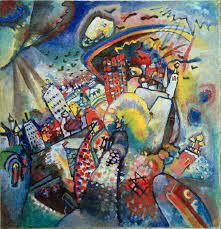カンディンスキー 『モスクワ赤の広場』