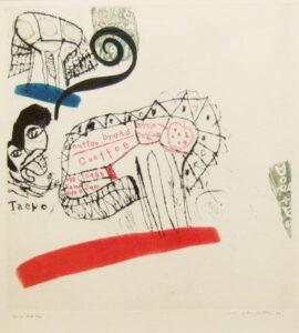 池田満寿夫 タエコの昼食 画像