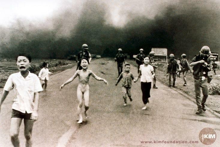 フィン・コン・ウト 『ベトナムの少女』 写真