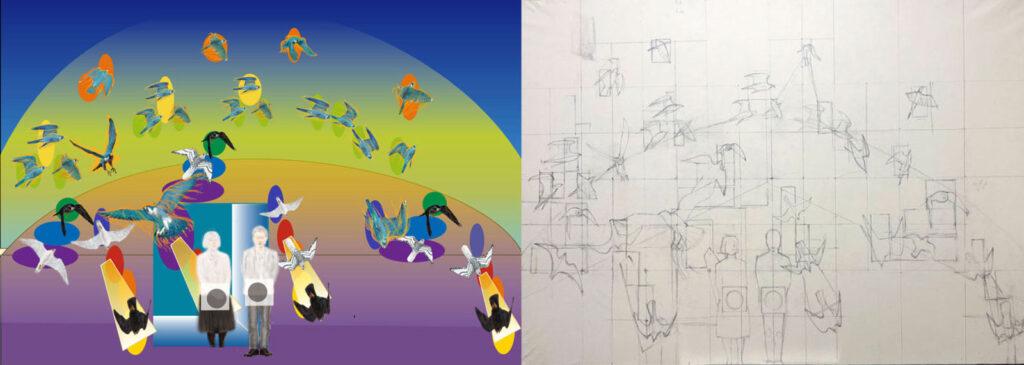 "<span class=""title"">パステル画入門 プロも必見のパステル画の描き方テクニック 第4回 原画であるデジタル絵画を用紙に転写する工程</span>"