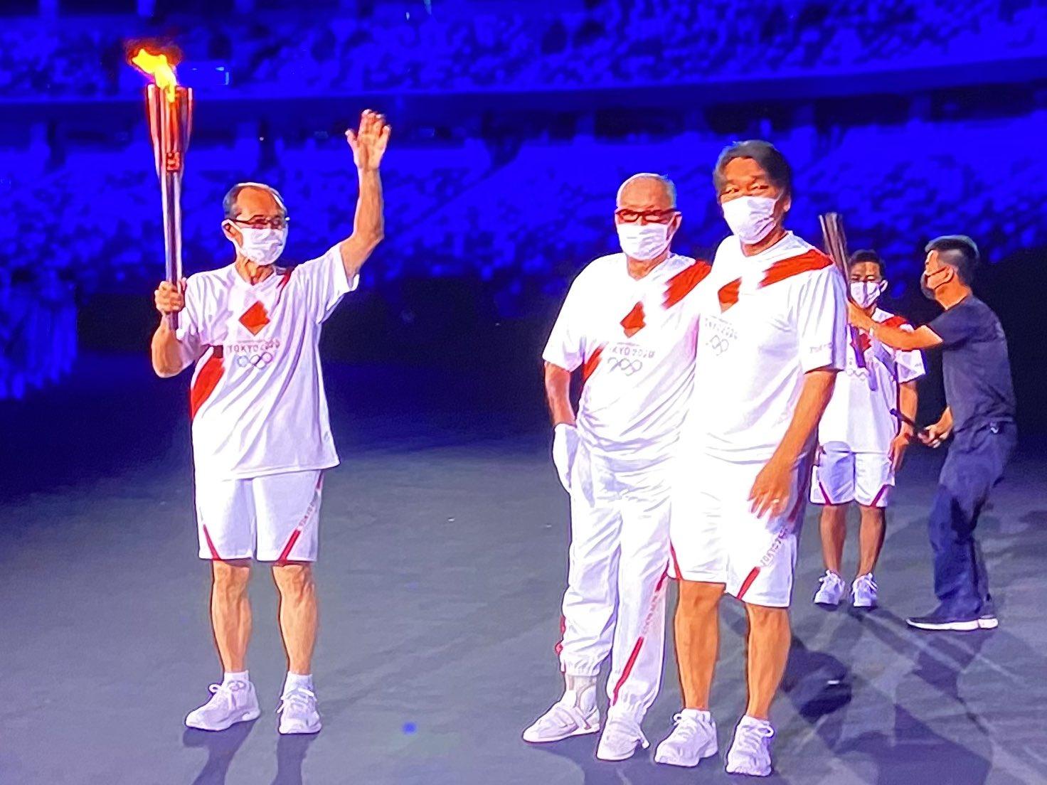 東京オリンピック開会式での長島茂雄、王貞治登場と日本画や日本の伝統文化の類似性について