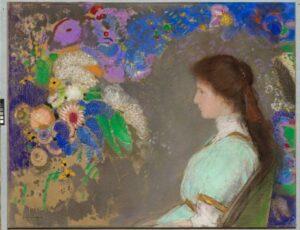 バイオレット ハイマンの肖像